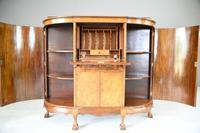Early 20th Century Walnut Writing Cabinet (6 of 12)
