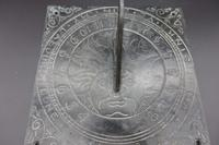 Very Good Bronze Sundial Top Dated 1673 (2 of 3)