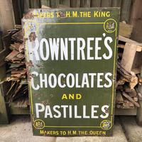 Rowntree's Advertising Sign c.1910