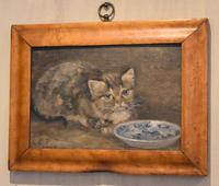 Charming Oil Painting of a Cat (2 of 7)