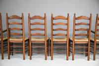 6 Ladderback Dining Chairs (7 of 11)