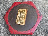 Large Heavy Rusted Cast Iron Railway Plaque Sign Train Notice (2 of 25)
