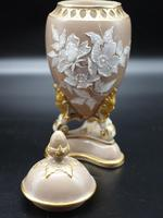 Attractive Pair of Late 19th Century Pâte-Sur-Pâte Vases (6 of 6)