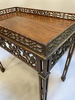Chippendale Revival Side Table (4 of 9)