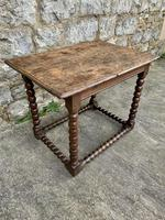 17th Century Spanish Country House Occasional Table (2 of 5)