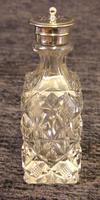 Antique Silver Plated Six Bottle Glass Cruet (8 of 13)