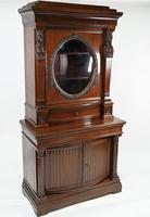 Antique Egyptian Revival Library Salon Cabinet (2 of 5)