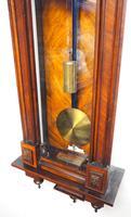 Wow! Antique German Single Weight Walnut 8-Day Vienna Regulator Wall Clock (11 of 11)