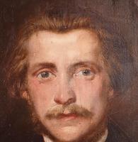 Oil of Male Portrait (2 of 3)
