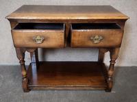 Titchmarsh & Goodwin Small Oak Dresser Base (5 of 8)