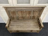 Bleached Oak Hall Bench (9 of 15)