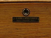 Antique Golden Oak Roll Top Writing Desk, Scandanavian A B Bobin & Mobelfabriken (8 of 15)