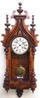 Wow! Antique German Spring Driven Striking 8-day Vienna Wall Clock by Peerless (4 of 12)