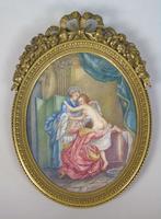 Beautiful Miniature Painting after Boucher Bathtime (2 of 6)
