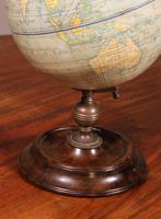 English Globe With Its Wooden Base - Early 20th Century (2 of 7)