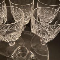 Six Waterford 'Colleen' Claret Glasses (3 of 3)