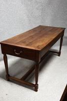 French Cherry farmhouse Refrectory Table