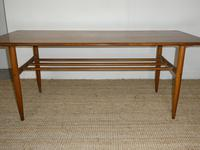 Large Swedish Teak Coffee Table by Alberts (5 of 9)