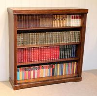 Oak Open Bookcase c.1920 (7 of 12)