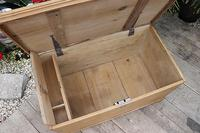 Restored Pine Blanket Box / Chest / Trunk / Coffee Table (7 of 8)