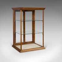 Antique Shop Display Cabinet, English, Walnut, Shopfitting, Chemist, Victorian