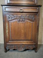 Antique French Carved Oak Bookcase (9 of 16)