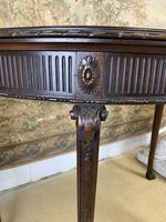 Carved Georgian Style Fold Over Card Table (2 of 8)