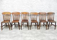 6x Windsor Slatback Kitchen Chairs (4 of 7)