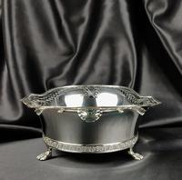 Large Edwardian Silver Centre Piece (10 of 12)