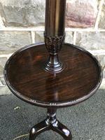 Antique Mahogany Standard Lamp (6 of 8)