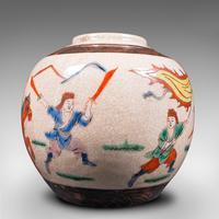 Small Antique Flower Vase, Japanese, Ceramic, Posy Urn, Edo Period c.1850 (9 of 12)