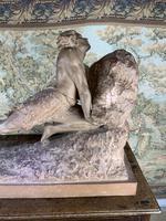 Large Terracotta Sculpture by Émile Grégoire (2 of 10)