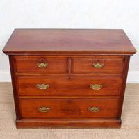 Edwardian Walnut Chest of Drawers (6 of 8)