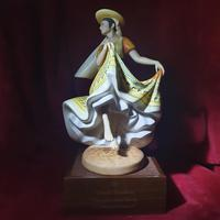 """Royal Doulton Figurine """"Dancers of the World - Mexican Dancer"""" with Original Custom Fitted Box and Certificate of Authenticity (2 of 9)"""