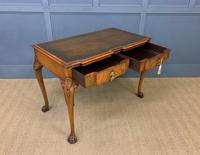 Excellent Queen Anne Style Burr Walnut Writing Table (13 of 16)