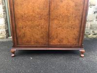 Antique Burr Walnut Double Wardrobe  x (10 of 12)