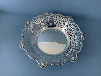 Large Antique Silver Dish or Bowl (2 of 5)
