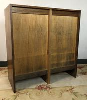 Vintage French Mid Century Filing Cabinet Tambour Roller (11 of 11)