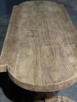 Large Rustic French Bleached Oak Farmhouse Dining Table (11 of 40)