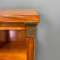Unusual Pair of Victorian Satinwood Antique Cabinets (4 of 6)