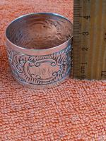 Antique Sterling Silver Hallmarked Napkin Ring 1903 (3 of 6)