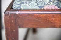 4 Antique Chippendale Style Mahogany Dining Chairs (9 of 12)