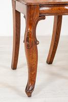 Wonderful Pair of Victorian Oak Hall Chairs (2 of 7)