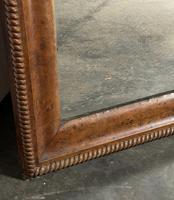19th Century French Burr Walnut Wall Mirror (16 of 19)