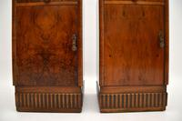 Pair of Art Deco Burr Walnut Bedside Cabinets (8 of 12)