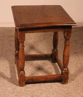 French Stool in Oak - 17th Century (3 of 10)