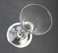 Georgian Folded Foot Dessert Wine Glass (4 of 6)