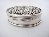 Impressive Victorian silver table snuff box Henry William Dee London 1877 (11 of 13)