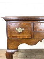 18th Century Oak Lowboy (5 of 10)