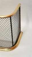 Early Victorian Brass & Wire Fire Guard / Fender (4 of 7)